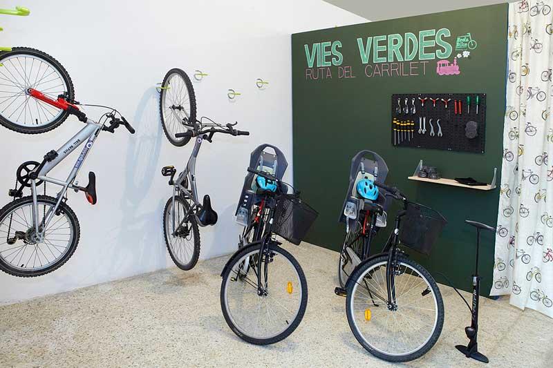 bicicleta hotel bellrepos