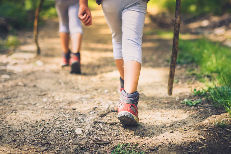 caminar paseos costa brava